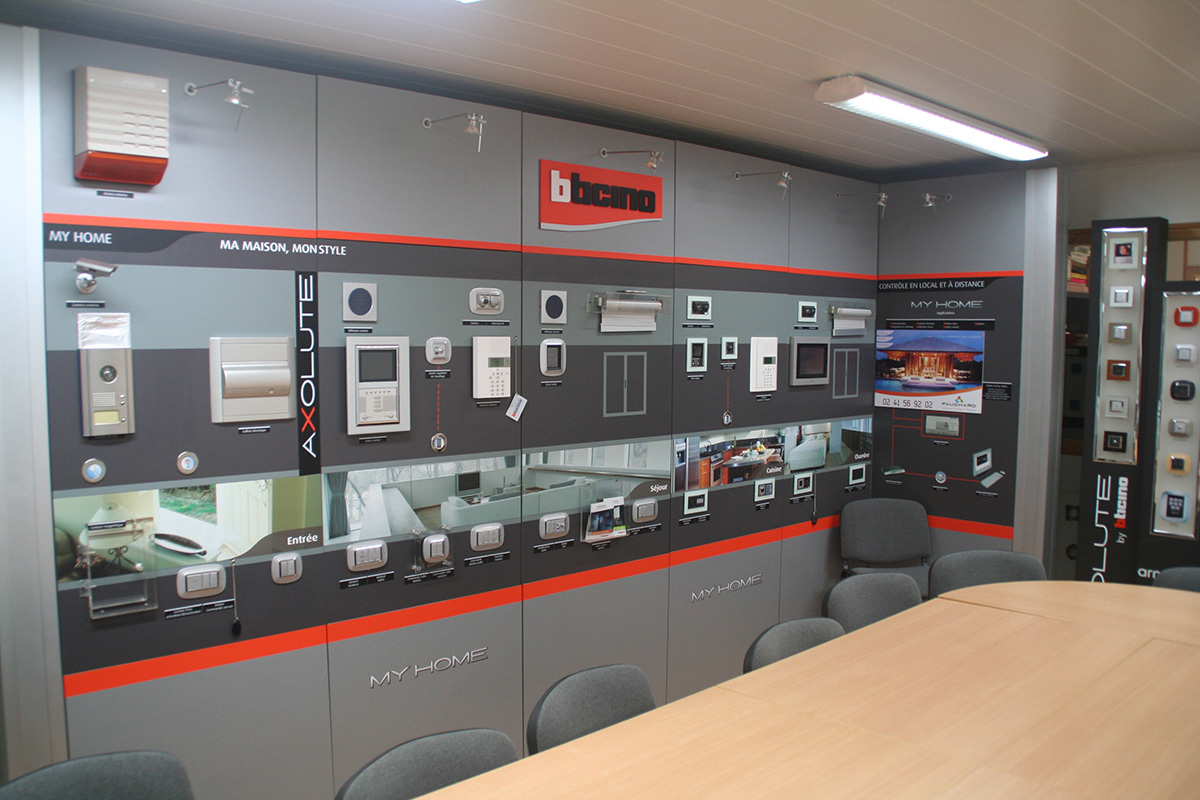 showroom domotique fauchard electricité