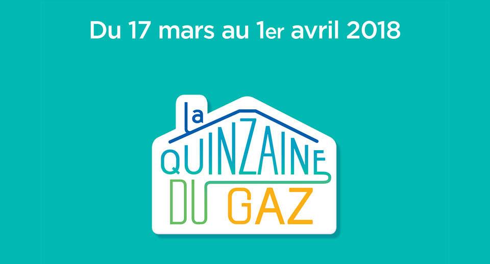 Quinzaine du gaz, du 17 mars au 1er avril
